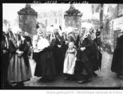 13/02/1912:mariages de Plougastel-Agence ROL-BNF